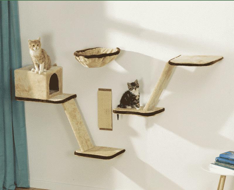 Arbre à chat mural
